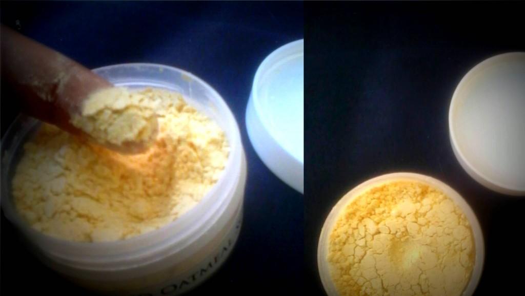 SPLURGE oatmeal scrub review
