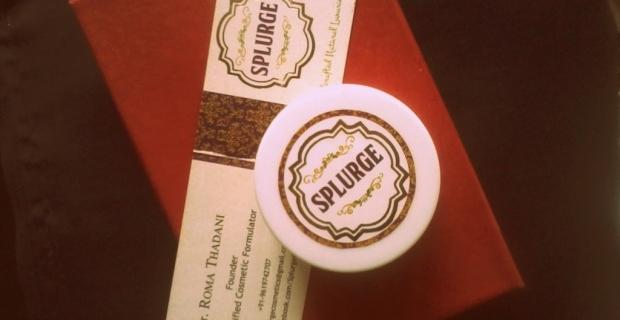 SPLURGE Hand-made Almond Oatmeal Scrub – Review