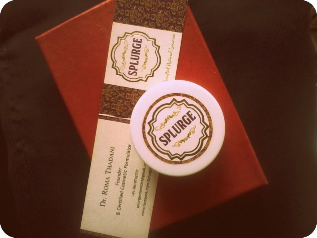 Hand-made Splurge almond oatmeal scrub review video