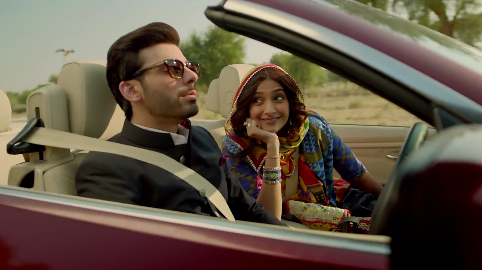 Sonam Kapoor Fawad Khan cute couple khoobsurat