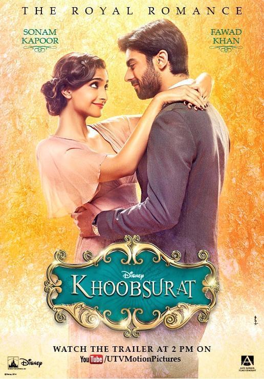 Khoobsurat poster Sonam Kapoor Fawad Khan