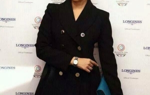 Aishwarya Rai in Gucci at Commonwealth Games in Glasgow
