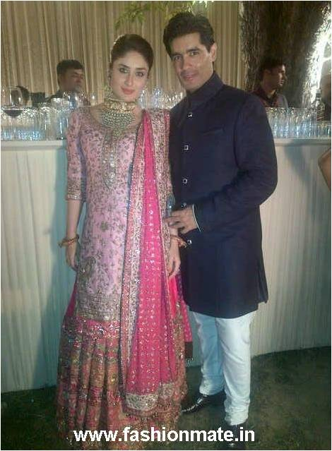 Kareena kapoor wedding dress by manish malhotra