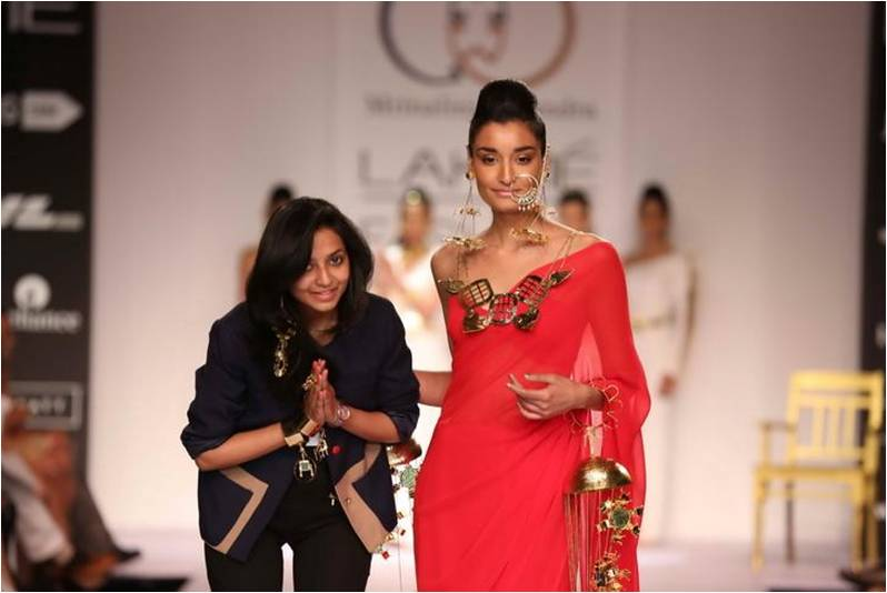 jewelry designer mrinalini chandra at lfw 2014