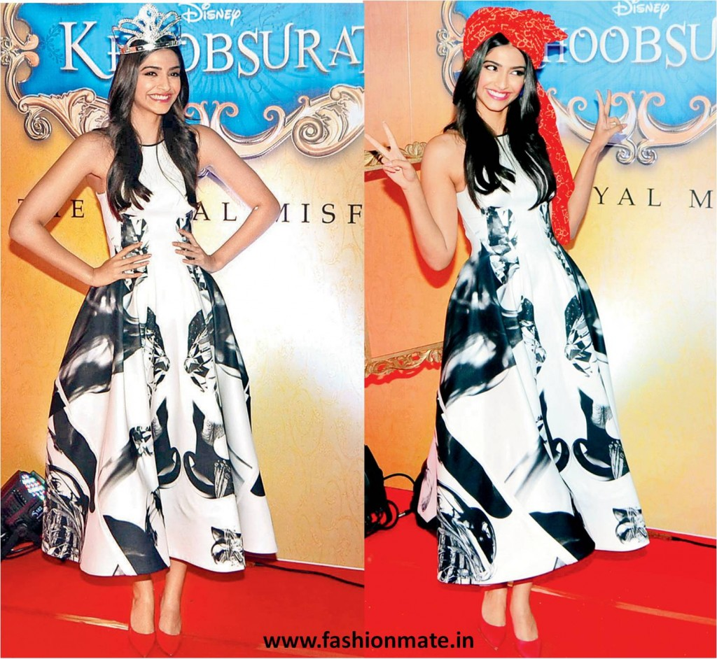 sonam kapoor royal misfit for khoobsurat