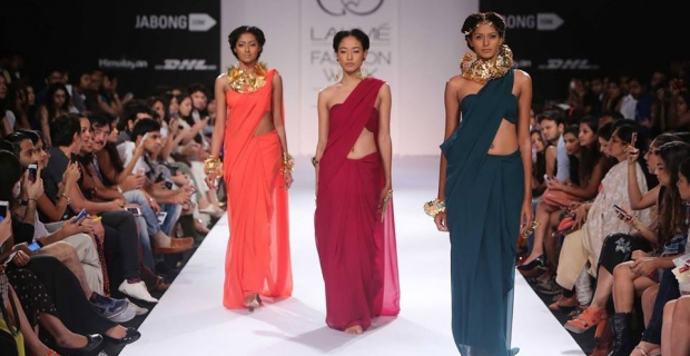 Mrinalini Chandra's Shakuntala Collection at Lakme Fashion Week 2014