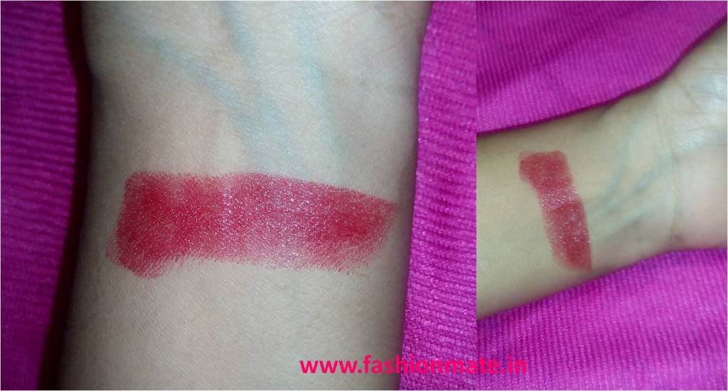 Maybeline fatal red lipstick swatches online review