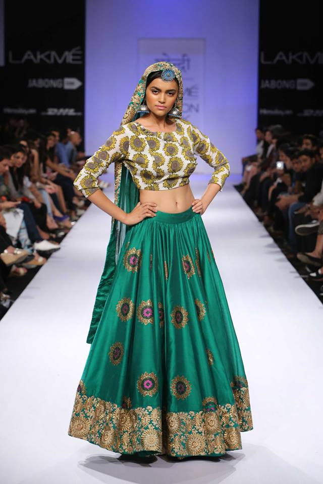 Surendri at lakme fashion week winter festive 2014