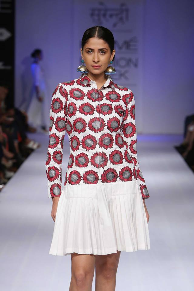 Surendri by Yogesh Chaudhary at Lakme Fashion Week winter festive 2014