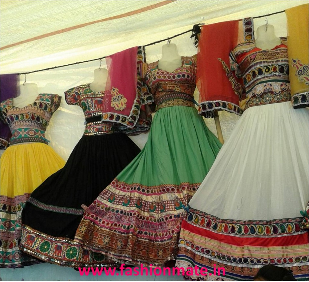 Chaniya choli patterns latest fashion navratri 2014