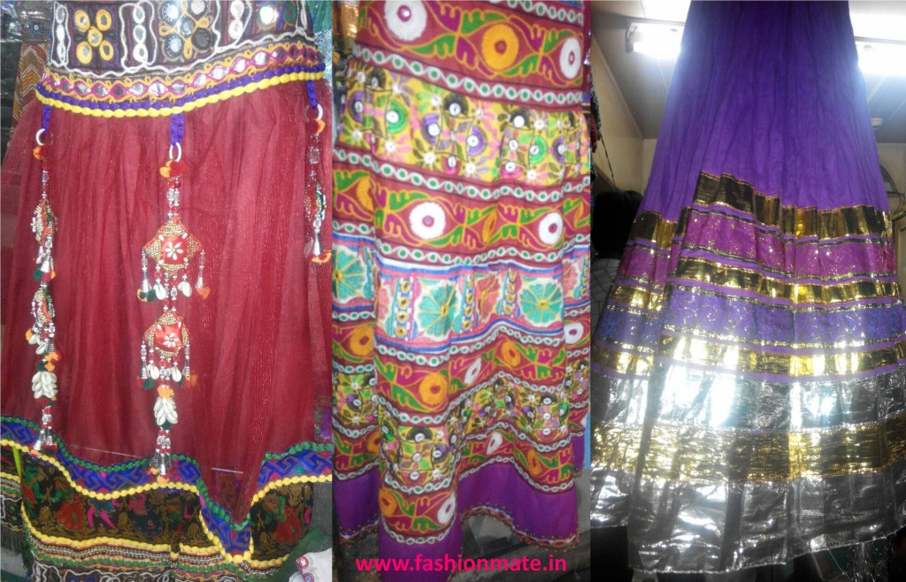 Glitter and glamour at navratri  chaniya choli patterns