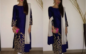 Get this look – Karishma Kapoor in Shruti Sheth outfit!