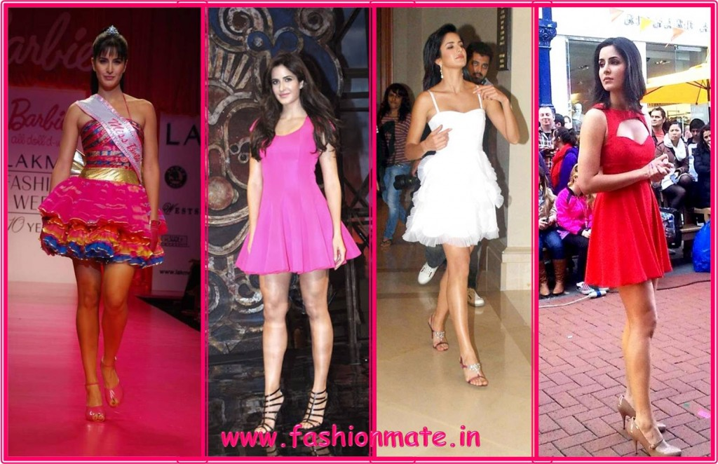 Katrina Kaif Barbie doll style Bollywood fashion 2014