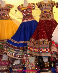 Navratri chaniya choli crop top fashion 2014