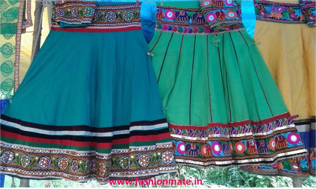 Navratri ghagra choli fashion trend 2014