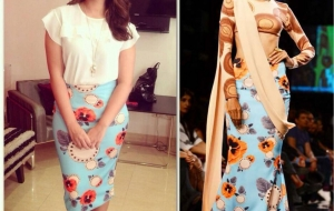 Parineeti Chopra in Masaba Gupta for Daawat-E-Ishq promotions