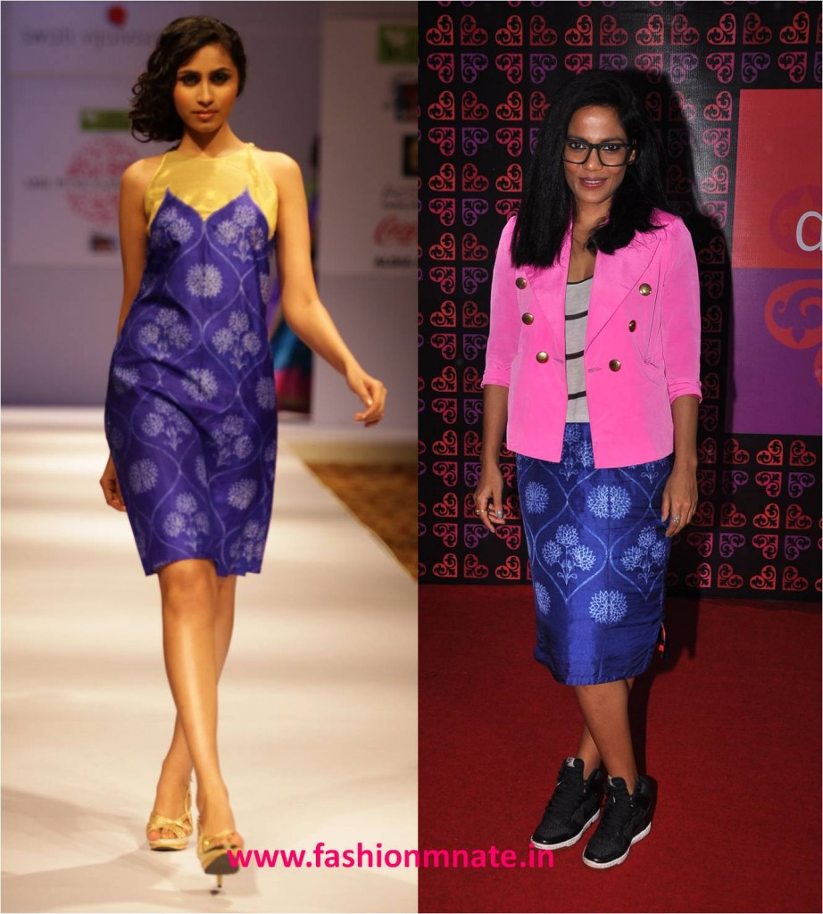 Priyanka Bose in Swati Vijaivargie at design one