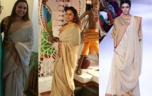 Rani Mukherjee in Anavila lfw 2014