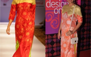 Shweta Salve and Priyanka Bose in Swati Vijaivargie at Design One
