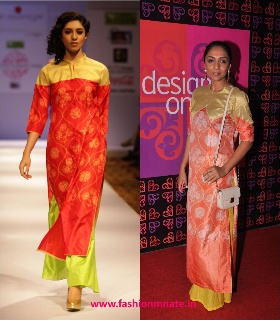 Shweta Salve in Swati Vijaivargie at Design One exhibition