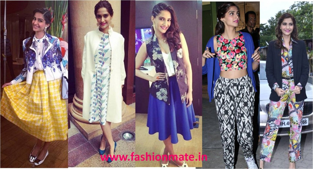 Sonam kapoor in blazers and jackets khoobsurat