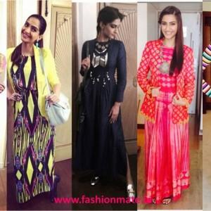 Sonam Kapoor Channelizes top trends of 2014 in Khoobsurat promotions!