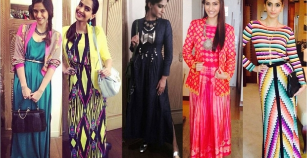 Sonam Kapoor Channelizes top trends of 2014 in Khoobsurat promotions!