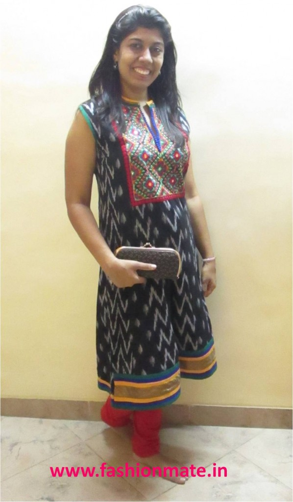 Traditional kurti outfit post