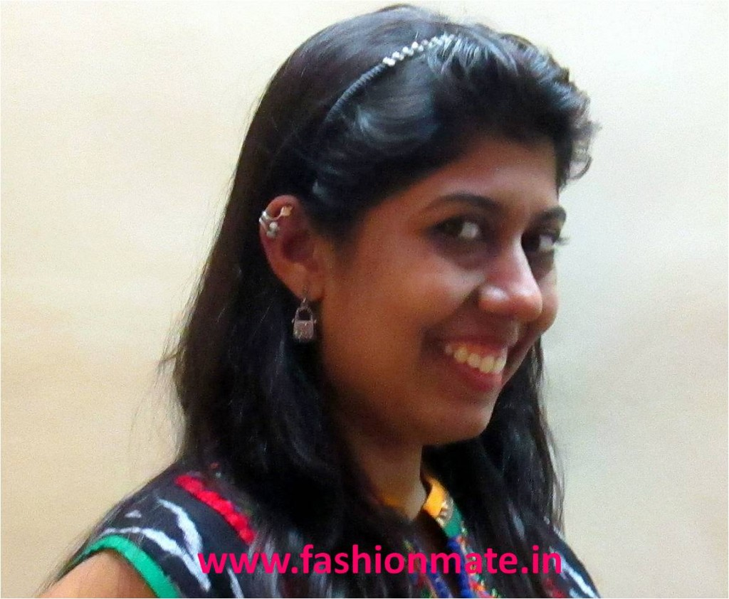 ear cuff's styled with ethnic wear