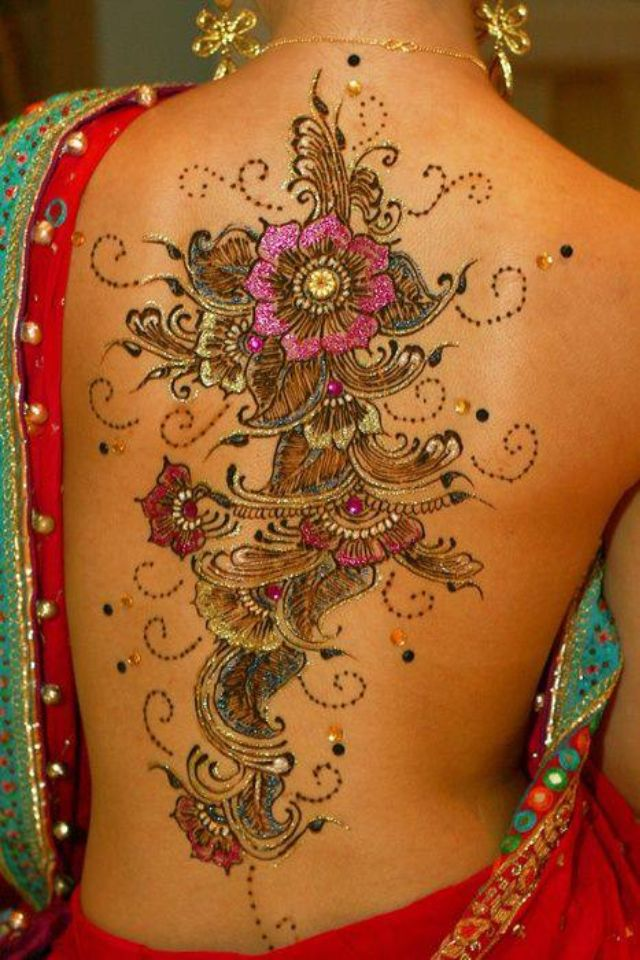 Navratri fashion trends 2014 - tattoos