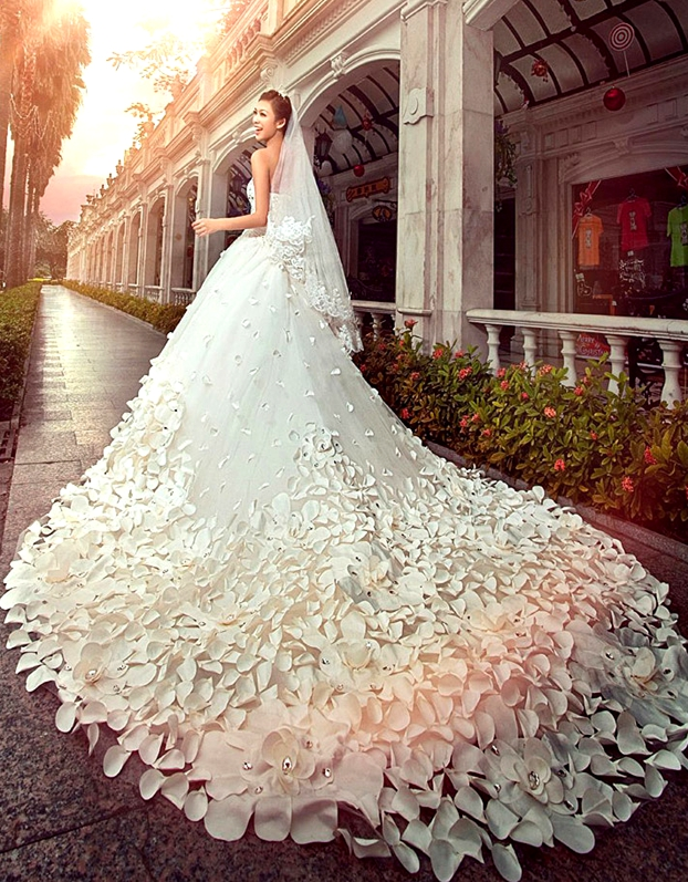 Cheap Designer wedding dress online