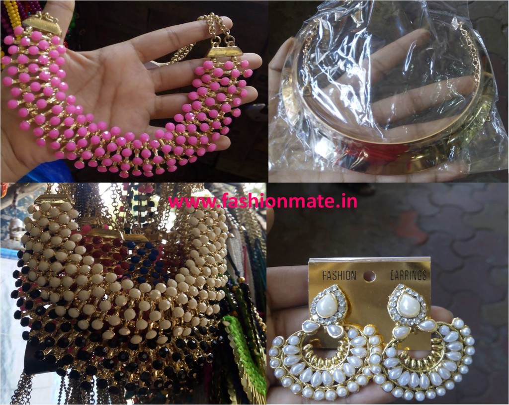 Accessories jewellery budget shopping on street shops mumbai 2014
