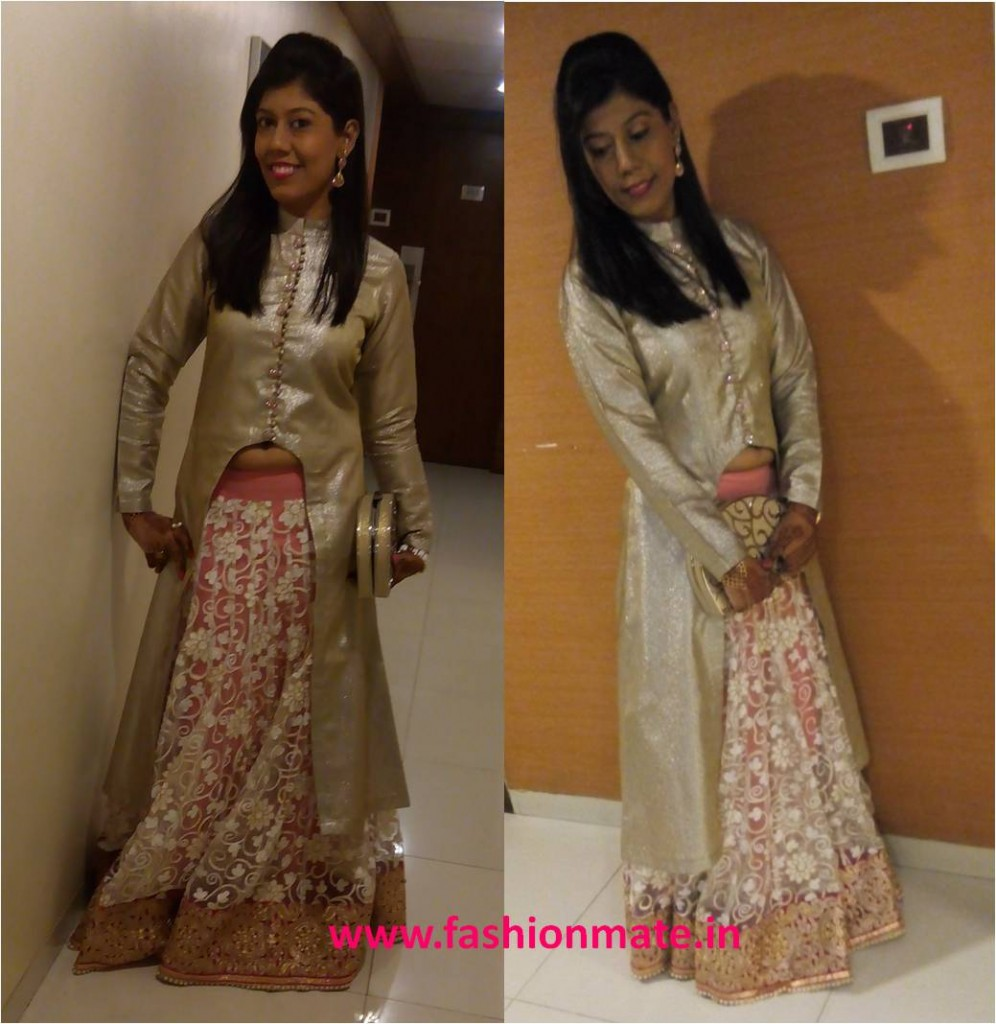 Manish Malhotra replica Designer Jacket lehenga wedding fashion trends 2014