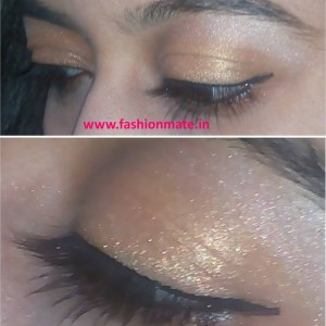 Festive season Make-up! How to add some bling to your festive outfits!