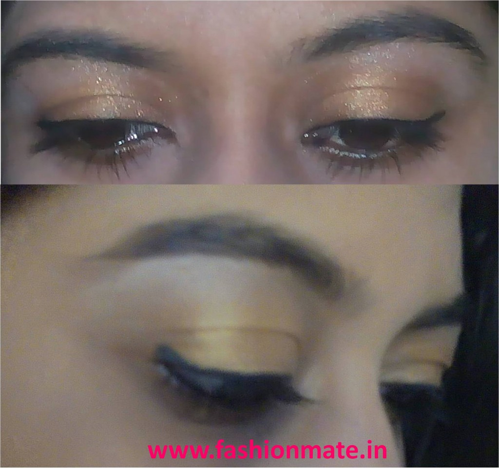 Festive eymakeup tutorial for Diwali festival