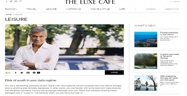 The Luxe Café- Bringing 'Luxury Consciousness' to India!
