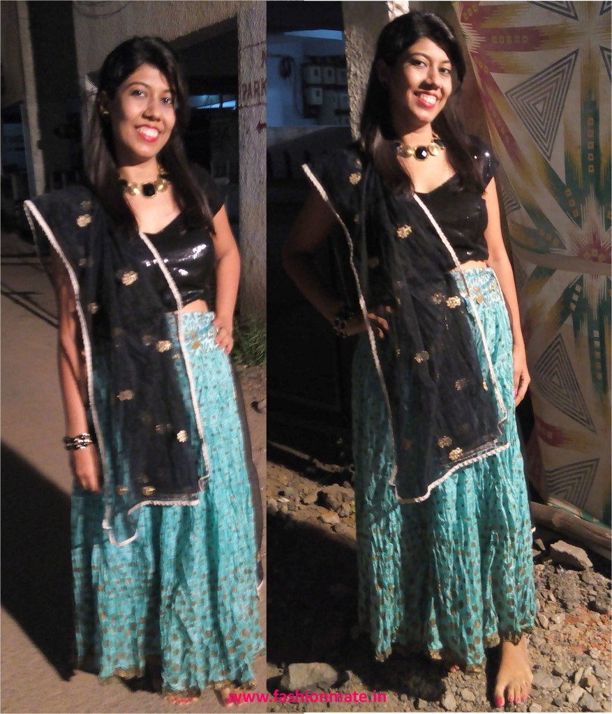 Ghagra choli ootd navratri fashion trends 2014