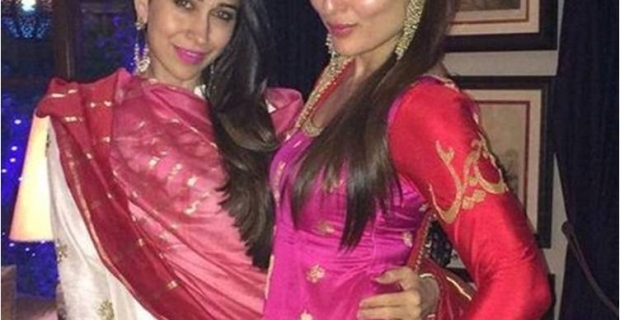 Kareena Kapoor Khan in Sabyasachi for Diwali Celebrations