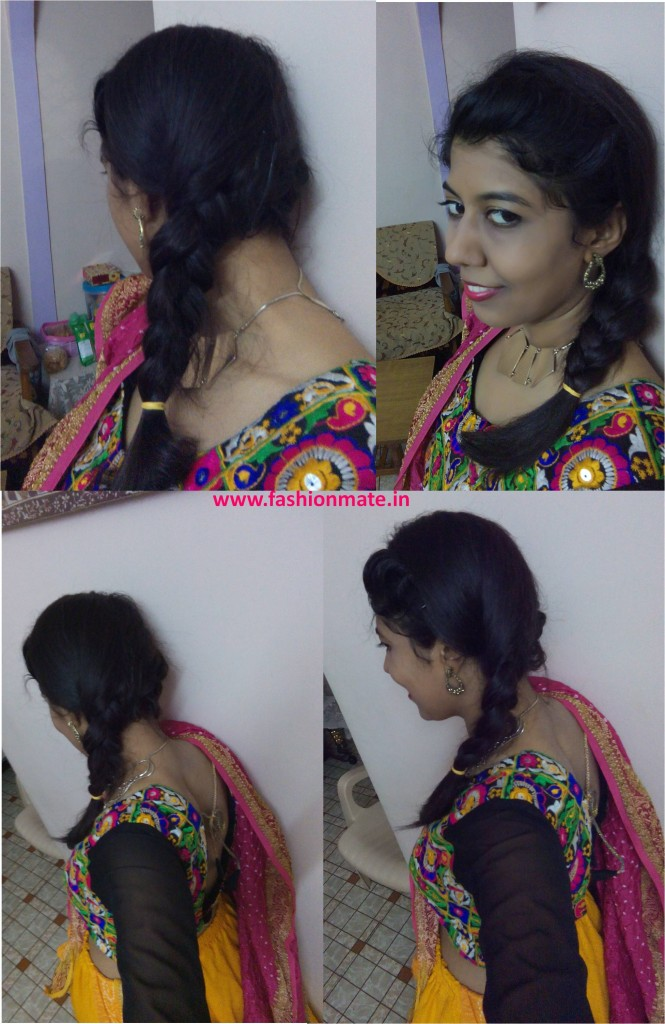 Navratri garba hairstyle trends fashion 2014