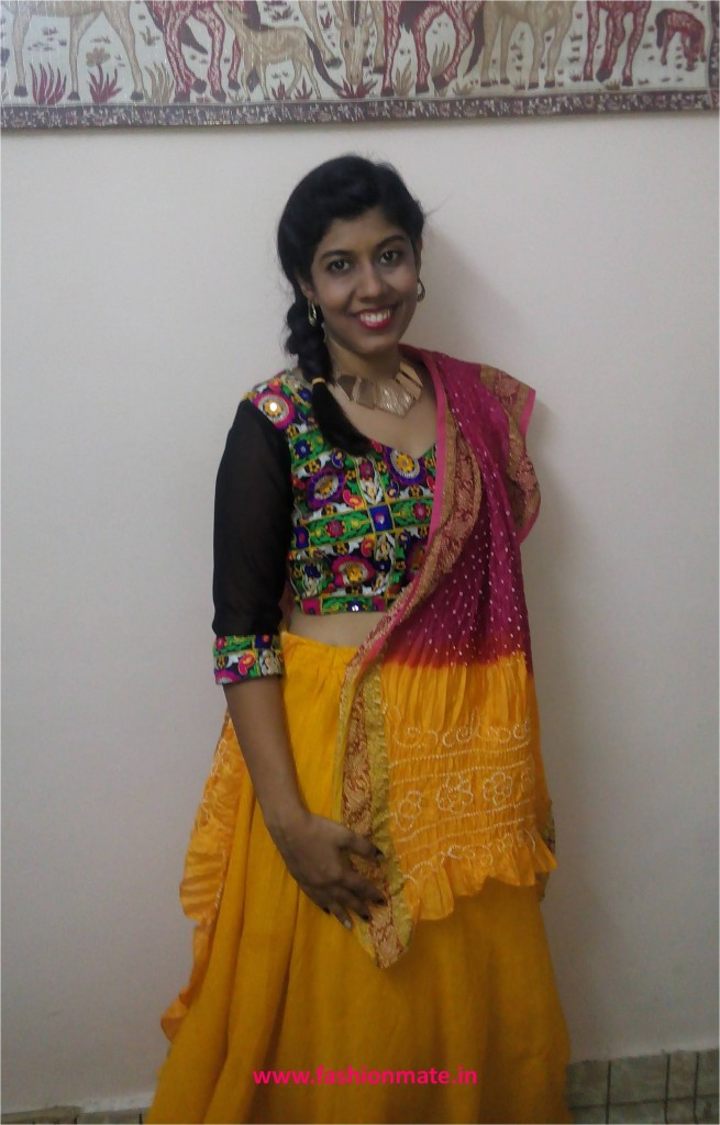 Indian Fashion Blog- Navratri ootd ghagra choli day 2 fashion trends 2014
