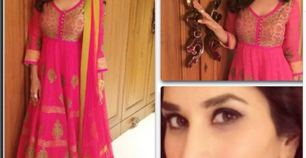 Sophie Choudry in Pink- at Ekta's Diwali Bash or Dia's Wedding?