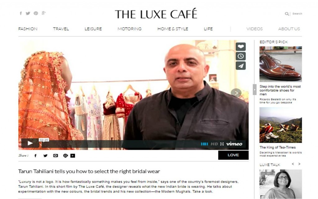 The luxe cafe portal - luxorious living