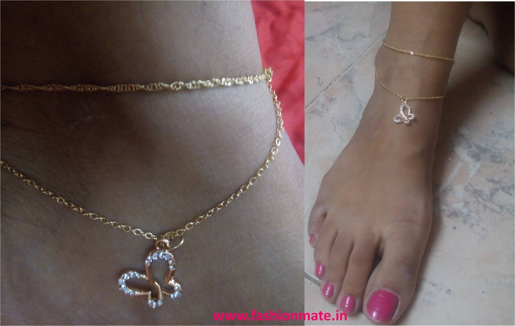 bubbly6 butterfly anklet for college fashion trends 2014