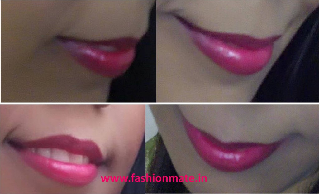 hot pink lipstick for diwali festival makeup tutorial fashion trends 2014