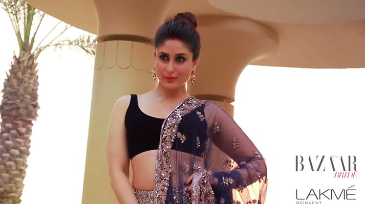 kareena kapoor for bazaar bride cover november 2014