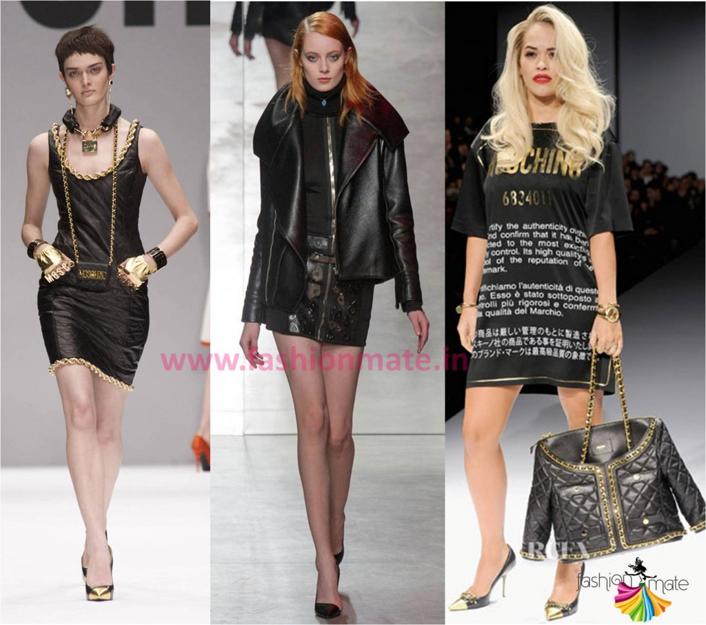 Fall Winter Fashion 2014 Must haves Leather Jackets skirts runway