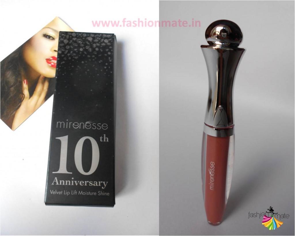 Mirenesse velvet lip lift moisture shine beauty products online in India