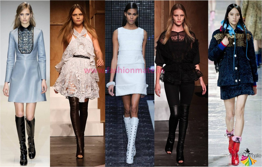 Top fashion trends fall winter 2014 Below Knee Boots