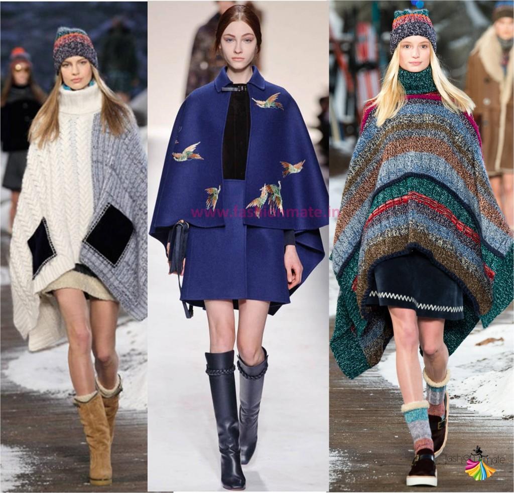 Winter autumn fashion must have wardrobe - Ponchos