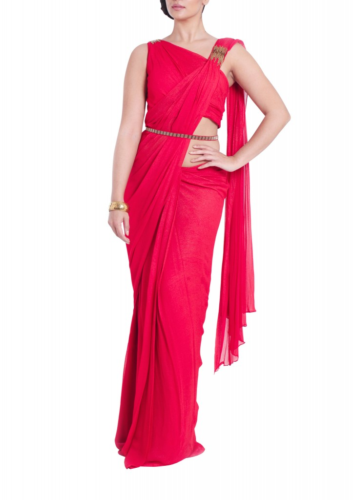 Mira Taylor saree gown by VivaLuxe